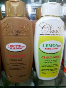 Make your skin look clear and spotless with cloud 9 lotion