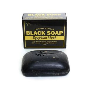 Get a glowing skin with our lightening Miracle black soap